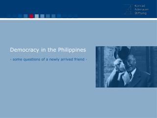 Democracy in the Philippines