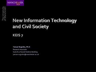 New Information Technology and Civil Society