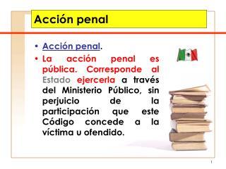 Acci n penal
