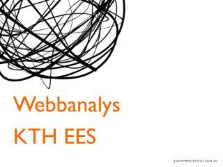 Webbanalys KTH EES