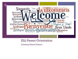 ELL Parent Orientation Gateway School District