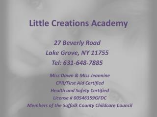 Little Creations Academy