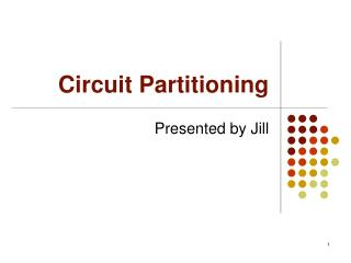 Circuit Partitioning