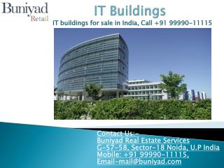 Luxurious IT Buildings for sale in India at best price
