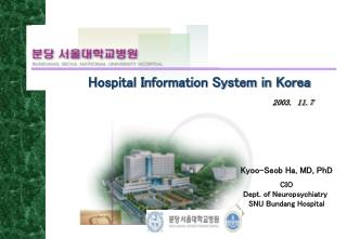 Hospital Information System in Korea