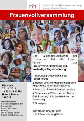 Frauenvollversammlung