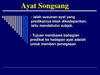 Ayat Songsang