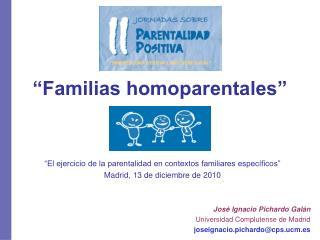 �Familias homoparentales�