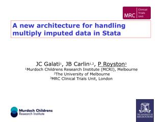 A new architecture for handling multiply imputed data in Stata