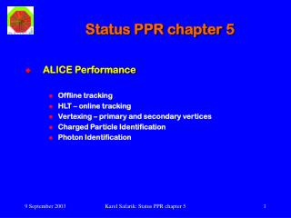 Status PPR chapter 5