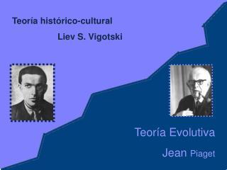 Teoría histórico-cultural  Liev S. Vigotski