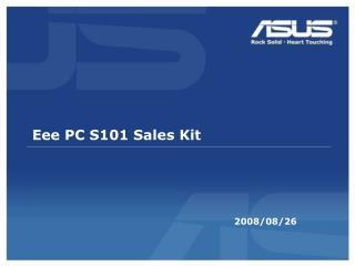 Eee PC S101 Sales Kit