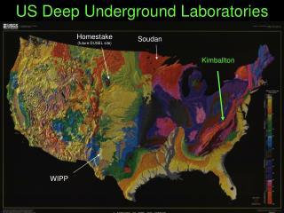 US Deep Underground Laboratories