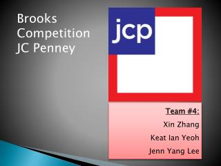 Brooks Competition JC Penney