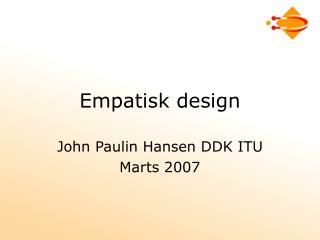 Empatisk design