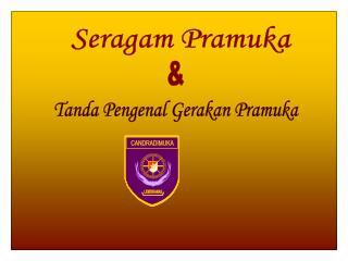 Seragam Pramuka