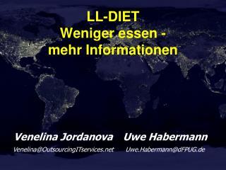 LL-DIET Weniger essen - mehr Informationen