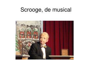 Scrooge, de musical