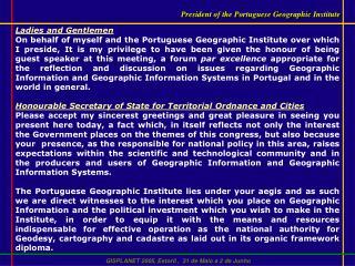 GISPLANET 2005, Estoril ,  31 de Maio a 2 de Junho