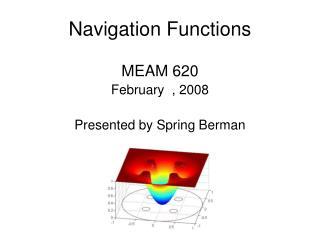 Navigation Functions