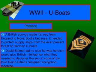 WWII - U-Boats