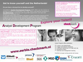 Get to know yourself and the Netherlands!