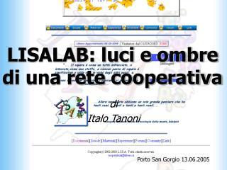 LISALAB: luci e ombre di una rete cooperativa