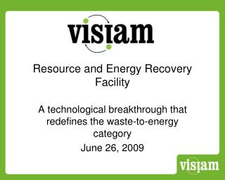 Resource and Energy Recovery Facility