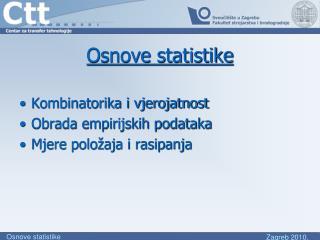 Osnove statistike