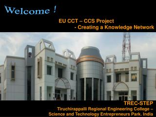 TREC-STEP Tiruchirappalli Regional Engineering College –