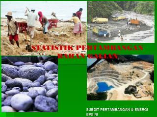 SUBDIT PERTAMBANGAN & ENERGI BPS RI