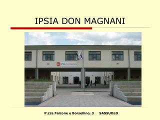 IPSIA DON MAGNANI