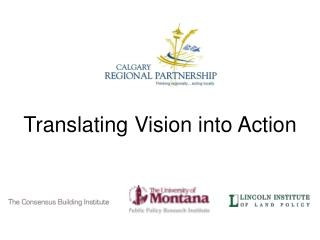 Translating Vision into Action
