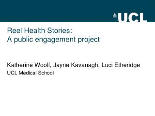 Reel Health Stories: A public engagement project