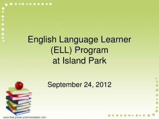 English Language Learner  (ELL) Program  at Island Park