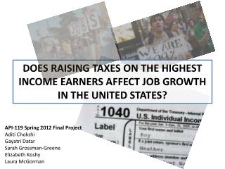 Does Raising Taxes on the 1% Affect Job Growth?