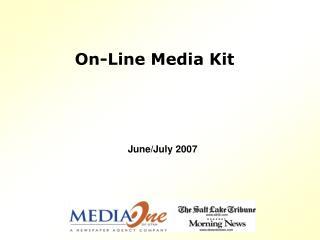 On-Line Media Kit