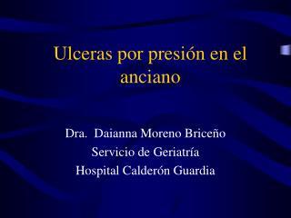 Ulceras por presión en el anciano