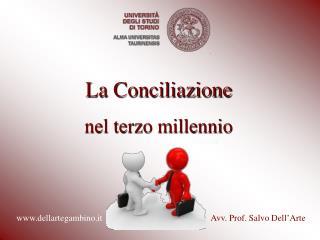 La Conciliazione nel terzo millennio