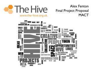Alex Fenton Final Project Proposal MACT