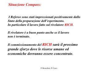 Situazione Compass: