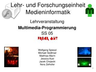 Lehr- und Forschungseinheit Medieninformatik