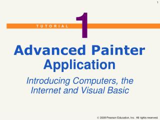 Advanced Painter Application Introducing Computers, the Internet and Visual Basic