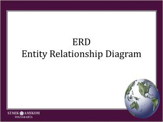 ERD Entity Relation ship  Diagram