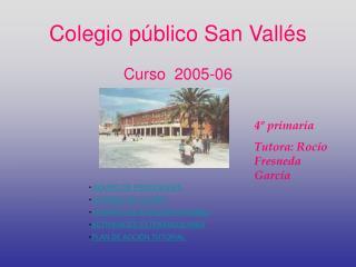 Colegio público San Vallés