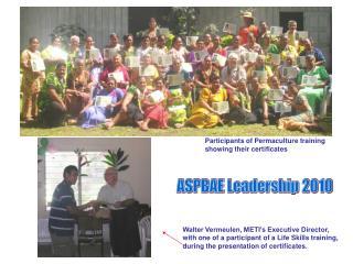 ASPBAE Leadership 2010