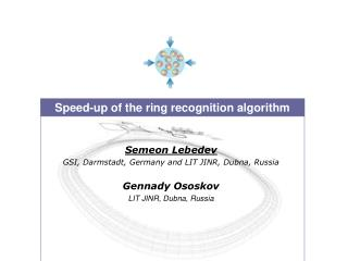 Speed-up of the ring recognition algorithm