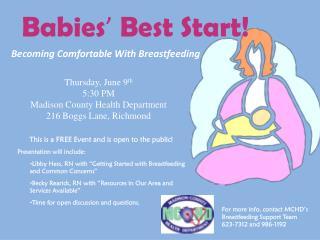 Babies '  Best Start!