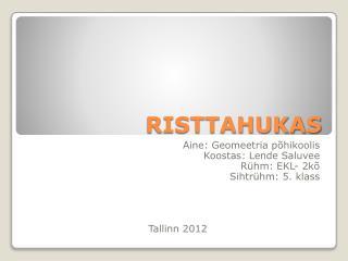 RISTTAHUKAS