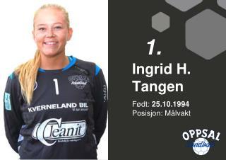 Ingrid H. Tangen